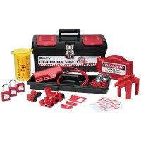 Brady 105955 Personal Valve and Electrical Kit w/ 3 Keyed-Alike Safety Padlocks