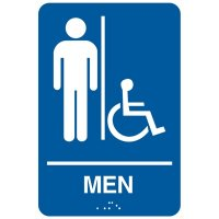 Economy Braille Signs - Men