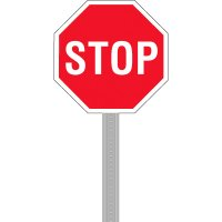 Stop - Parking Lot Sign Kit