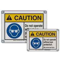 ToughWash® Encapsulated Signs - Caution Do Not Operate