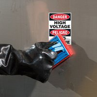 ToughWash® Labels - Danger High Voltage (Bilingual)
