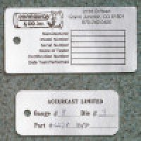Custom Self-Debossing Foil Tags