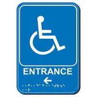 Entrance Arrow ADA Signs
