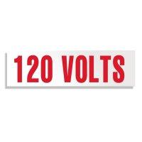 Voltage Warning Labels - 120 Volts
