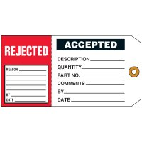 Rejected/Accepted 2-in-1 Status Tag