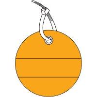 Circular Blank Heavy-Duty Plastic Tag