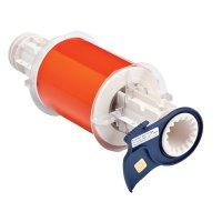 BBP®85 Series Label: Polyimide, Orange, 4 in W x 33 ft L