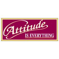 Attitude Is Everything Banner