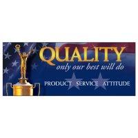 Product, Service, Attitude Banner