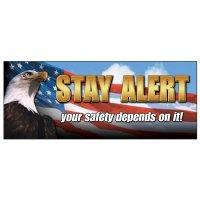Stay Alert Banner