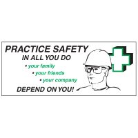 Practice Safety Banner