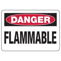 Danger Flammable Safety Sign