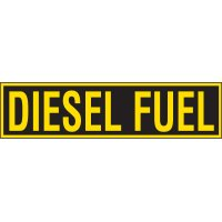 Chemical Labels - Diesel Fuel