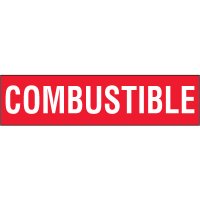 Chemical Labels - Combustible