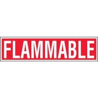 Chemical Labels - Flammable