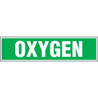 Chemical Labels - Oxygen