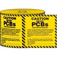 Caution Contains PCB'S Label