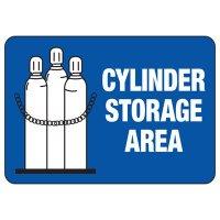 Cylinder Storage Area Safety Sign