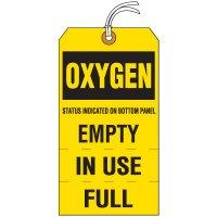 Oxygen Cylinder Status Tag