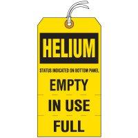 Helium Cylinder Status Tag
