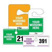 Custom Hanging Parking Permits