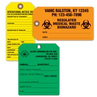 Custom-Sized Cardstock Tags