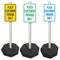 Custom-Worded PVC Sign System