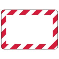 Blank Bordered Write-On Sign