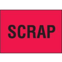 Color-Coded QC Labels - Scrap