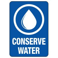 Conserve Energy and LEED Signs - Conserve Water
