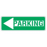 Directional Arrow Traffic Signs - Parking (with Arrow)