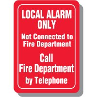 Local Alarm Signs