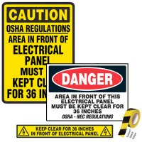 Electrical & Arc Flash Safety Kits - Electrical Panel