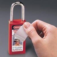 Master Lock® 411  Zenex™ Thermoplastic Safety Padlocks