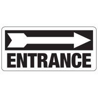 Entrance Safety Sign