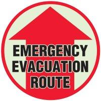 Emergency Evacuation Anti-Slip Floor Markers