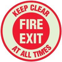 Fire Exit Anti-Slip Floor Markers