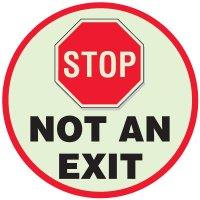 Exit Anti-Slip Floor Markers