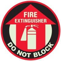 Fire Extinguisher Anti-Slip Floor Markers