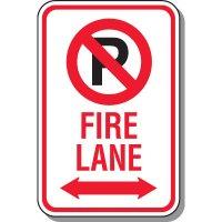 Fire Lane Signs - Fire Lane