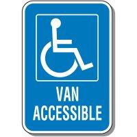 Van Accessible Handicap Sign