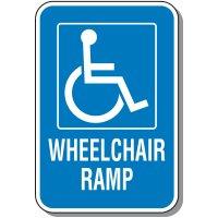 Wheelchair Ramp Sign