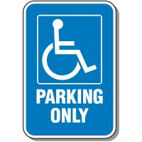 Handicap Symbol Parking Sign