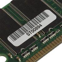 Custom High Temperature Bar Code Asset Labels