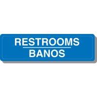 Bilingual Restroom Signs
