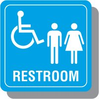 Restroom Decor Signs