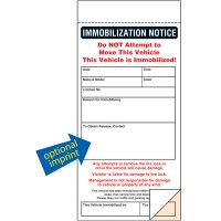 Immobilization Parking Tickets