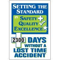 Setting Standard Lost Time Accident Scoreboard