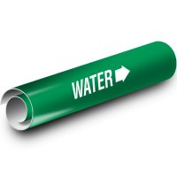 Green Water Kwik-Koil Pipe Markers
