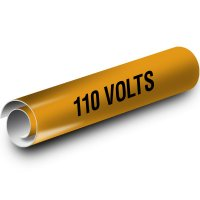 110 Volts Kwik-Koil Pipe Markers